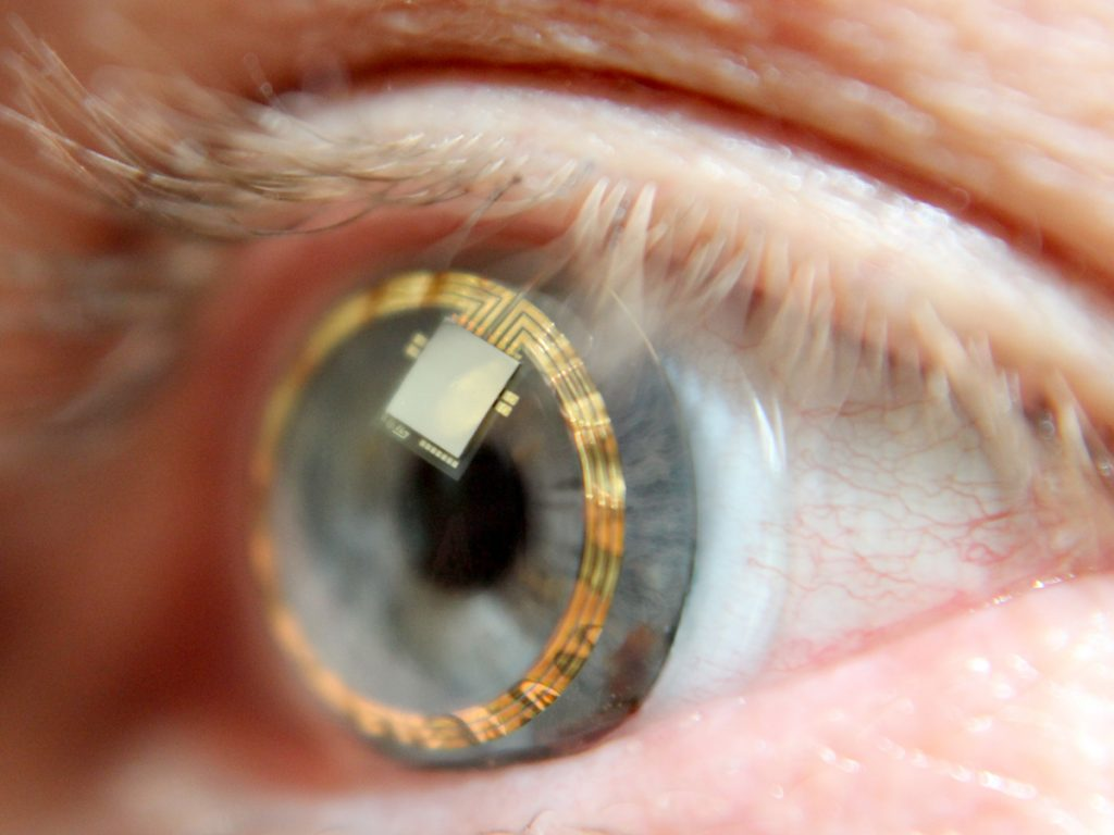 Scientists in Belgium develop an electronic contact lens