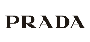 Prada glasses logo